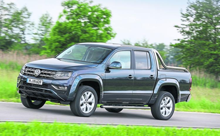 Volkswagen launches new Amarok V6 pick-up on the Irish market