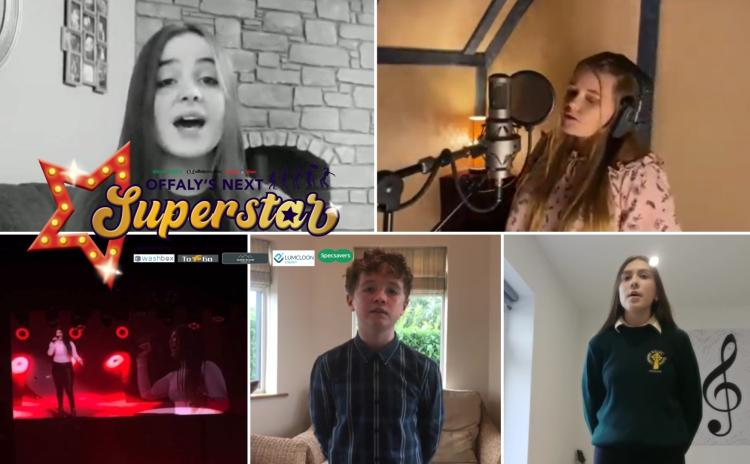 VOTE NOW in the grand finale of Offaly's Next Superstar
