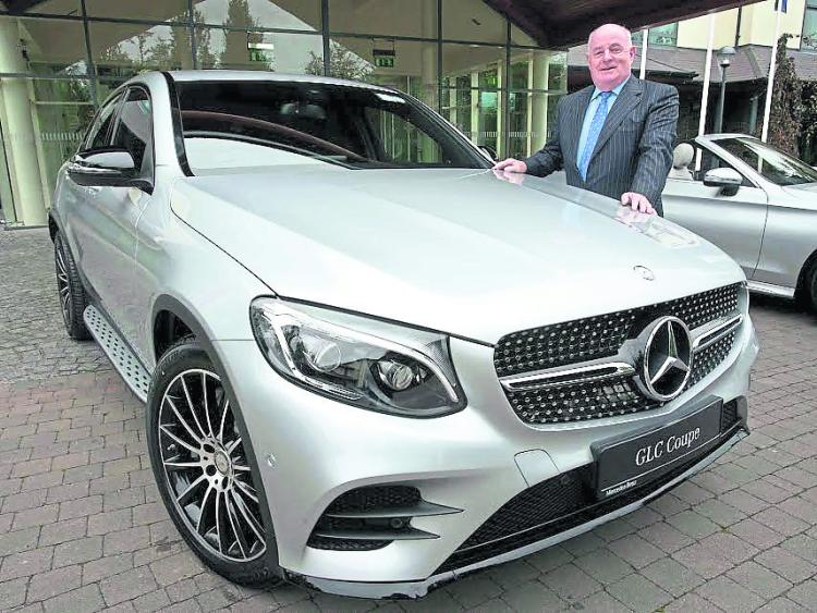 Mercedes dealer welcomes new coupe offaly express for Mike schmitz mercedes benz dealership
