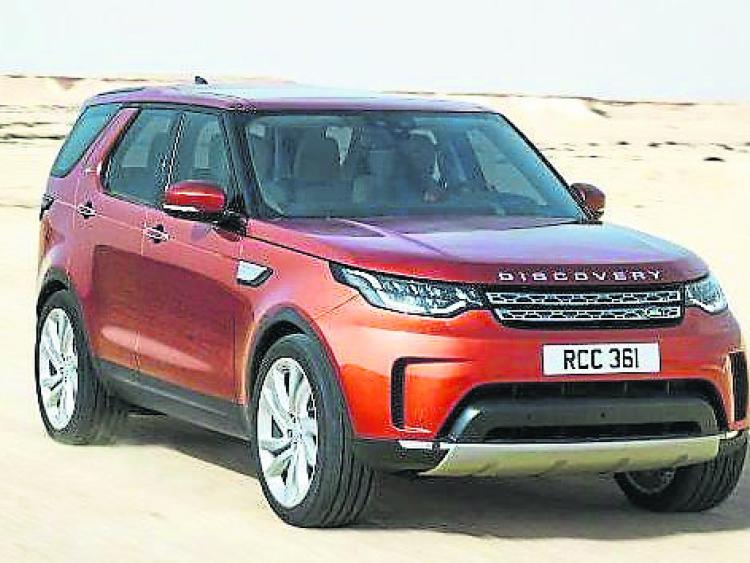 New Land Rover Discovery arrives  in Ireland