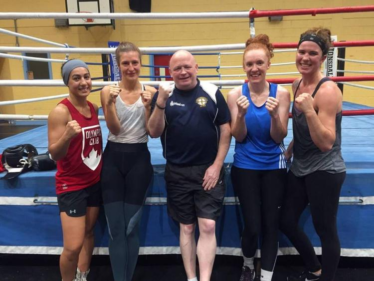 Offaly boxing training camp nominated for European award