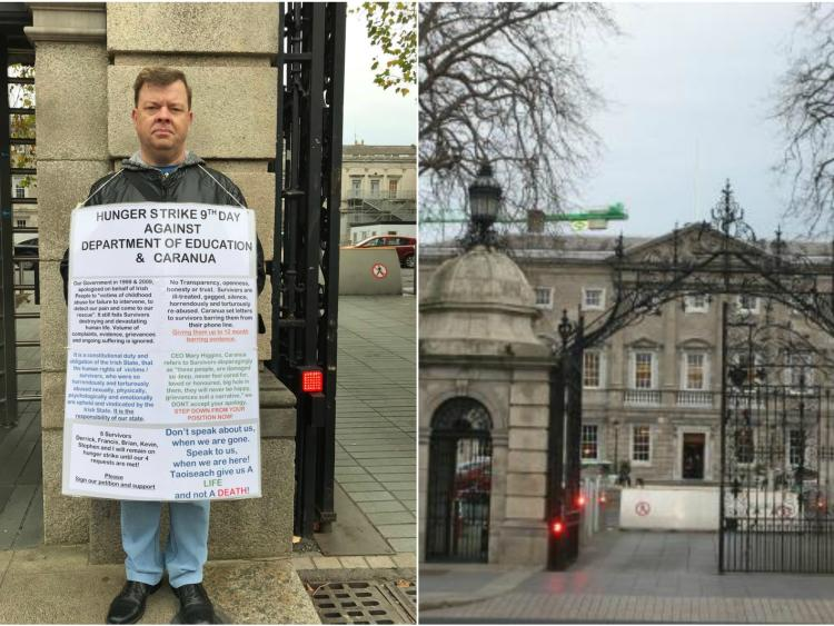 Offaly abuse survivor taking hunger strike to gates of the Dáil