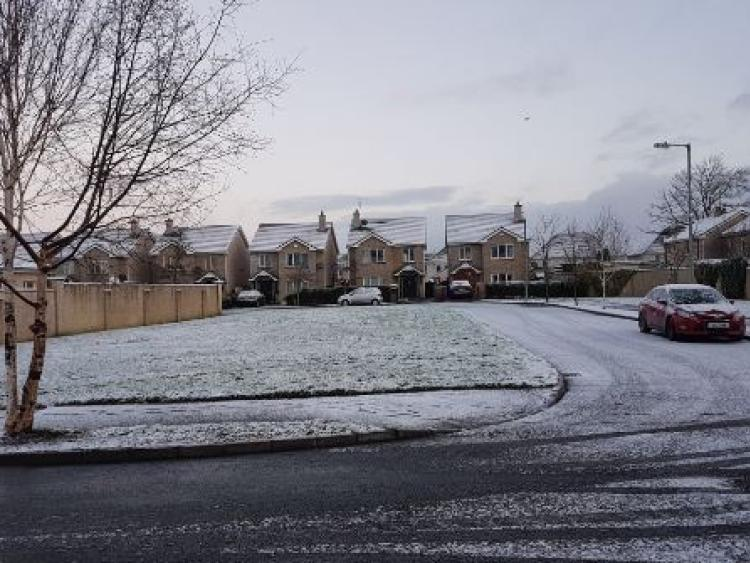 Snow and ice warning issued for north-west