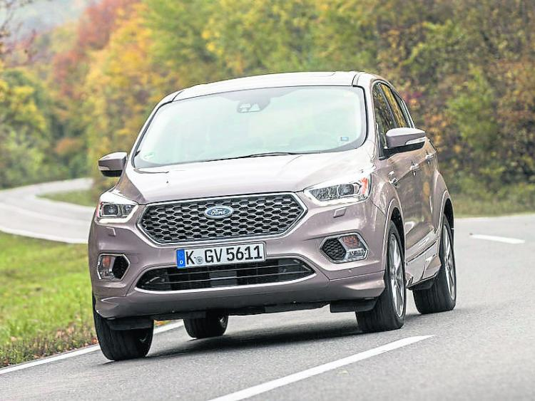 the new ford kuga vignale is a more bespoke suv offaly express. Black Bedroom Furniture Sets. Home Design Ideas