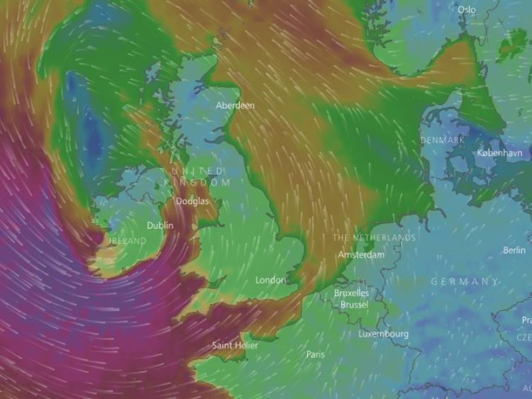 80mph winds forecast to lash parts of Britain