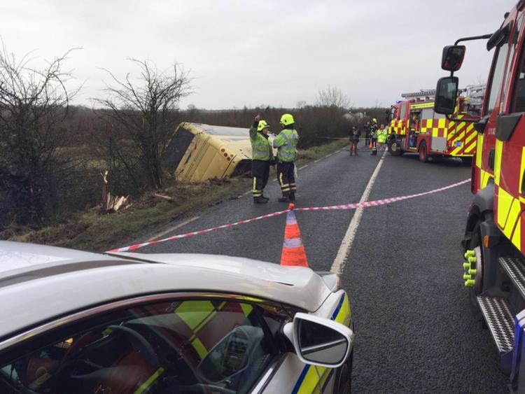Major crash on Tipperary to Limerick road - school children hospitalised