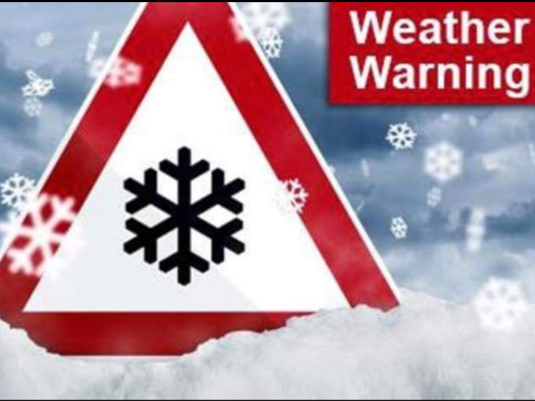 Met Éireann have issued a snow and ice warning for the country
