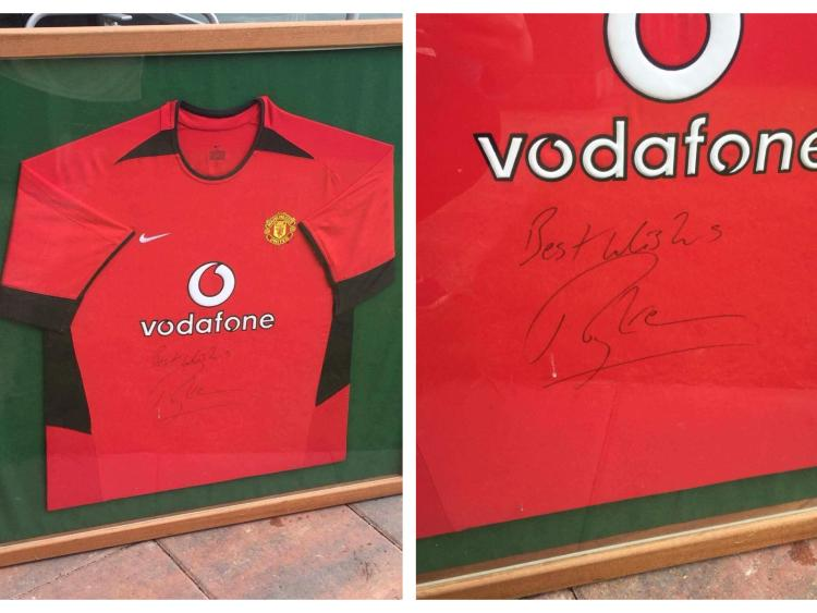 3ea46219154 A chance to win a Manchester United jersey signed by Irish legend Roy Keane