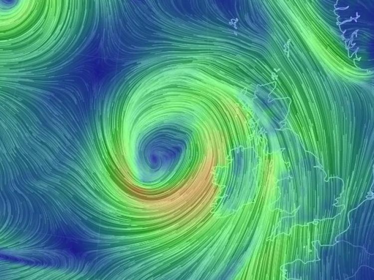 Met Office names intense low-pressure area - Storm Callum