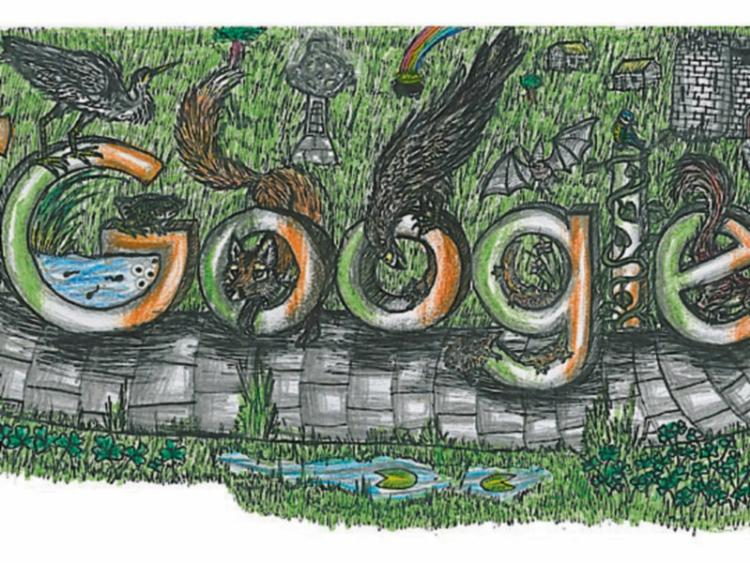 offaly student on shortlist for doodle 4 google 2016 offaly express