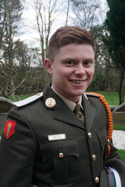 Laois Offaly Irish Army soldiers graduate as Defence Forces