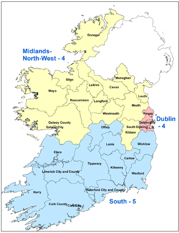 Map Of Ireland Midlands.A Handy Guide To Voting In Friday S Referendum Local And European